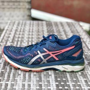 ASICS Gel-Kayano 23 sz. 10 navy blue running shoe